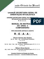 Manual de Instrucao Do 2º Grau Companheiro - REAA
