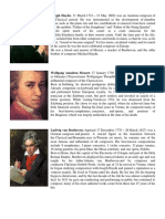 Composer Joseph Haydn