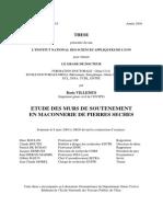 THESE - ETUDE DES MURS DE SOUTENEMENT.pdf