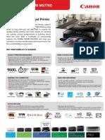 Pixma Home - Mg7760 Tech Sheet