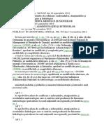 ORDIN Nr. 3403/245 din 10 septembrie 2012 pentru aprobarea procedurilor de codificare a informărilor, atenţionărilor şi avertizărilor meteorologice şi hidrologice EMITENT