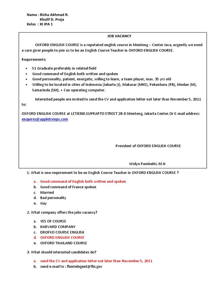 Nama Rizha Akhmad R Kholif D Praja Kelas XI IPA 1 A