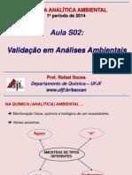Aula-S02-Validação-em-Análises-Ambientais_1S2014.ppt
