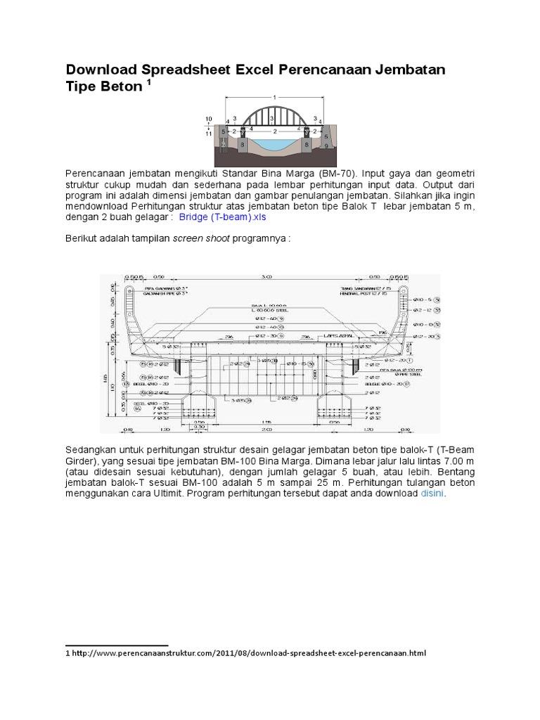 341850013 download spreadsheet excel perencanaan jembatan tipe beton 341850013 download spreadsheet excel perencanaan jembatan tipe beton docxcx ccuart Gallery
