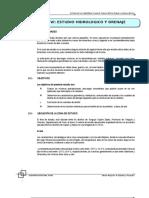 VI. Estudio Hidrologico y Drenaje