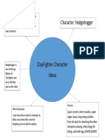 clayfighter character mindmap