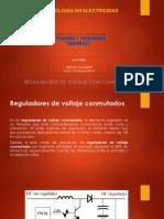 Reguladores de Voltaje Conmutados – Convertidores DC-DC
