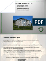 WRL Corporate Presentation Website