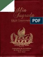 Encarte da Biblia do Centenário da Assembleia de Deus de Capanema - PA (2016)