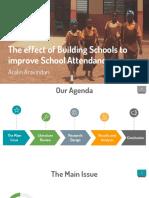 Schooling in Developing Economies
