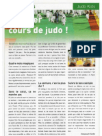 Premier Cours de Judo - Conseils Aux Enfants