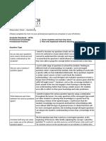 bsanders observation sheets