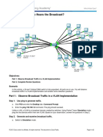 3.1.1.5 Packet Tracer - Who Hears the Broadcast Instructions (5)