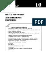 Cuentas Por Cobrar y Administracion de Inventarios