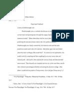 apush final paper