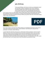 Tips Wisata ke Bangka Belitung