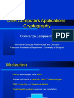 Presentation DNA Cryptography
