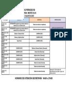 Calendario de Matrículas Marzo 2017 Agosto 2017-1 Kennedy