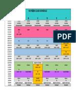schedule 17 - 18