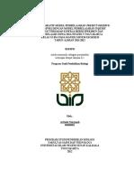 Contoh RPP POE Sistem Ekskresi