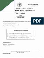 June 2007 CAPE Pure Mathematics U1 P2.pdf