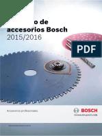 Catalogo Bosch Accesorios 2015