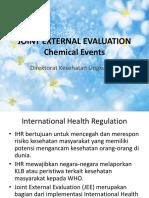 Joint External Evaluation Chemical Events Presentasi Tanggal 4 September 2017