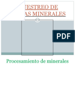 Muestreo de Pulpas Minerales