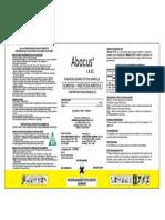 ABACUS 1.8 EC - 1 Litro -Proyecto-palto