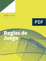 Reglas Juego 2017-18