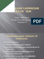 1. Perkembangan Industri