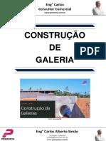 Construção de Galeria