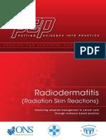 Pep Radio Dermatitis
