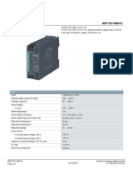 SITOP PSU100C 24 V1.3 a Stabilized Power Supply --6EP13315BA10_datasheet_en