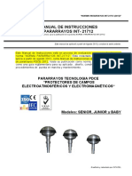 Manual de Instrucciones Pararrayos Pdce