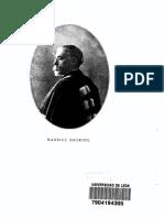 La Teoria de La Institucion y de La Fundacion -Maurice Hauriou-