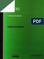 Yo y tú - Martín Buber.pdf