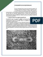 Campos Magnéticos en Materiales