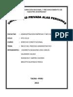 Inicio Del Procedimiento Administrativo Inter