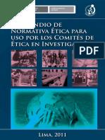 Compendio de Normativa Etica Para Comites de Etica