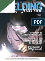Revista de La Sociedad Americana de Soldadura Aws en Español Julio 2017