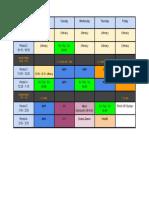 cross - 201718 -schedule