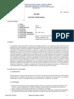 SILABO Gestión Empresarial 09301