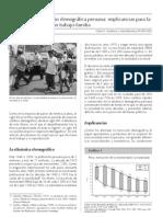 Transicion demografica peruana