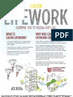 calvin lifework flyer