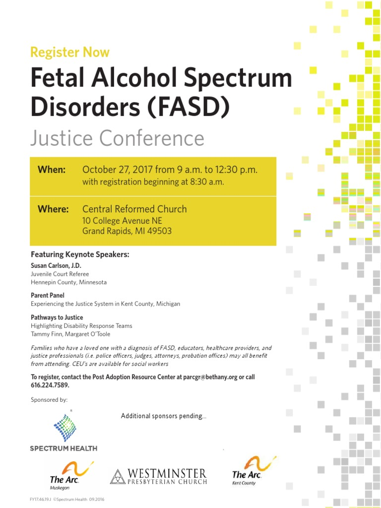 Fetal Alcohol Spectrum Disorders (FASD): Justice Conference