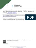 IJAL - Nathan E. Waltz - Innovations in Wanano (Eastern Tucanoan) When Compared to Piratapuyo.pdf