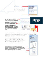 Creating a Brochure in Publisher
