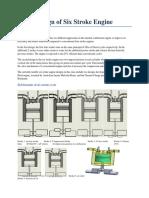 Design of Six Stroke Engine