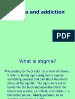 Stigma and Addiction